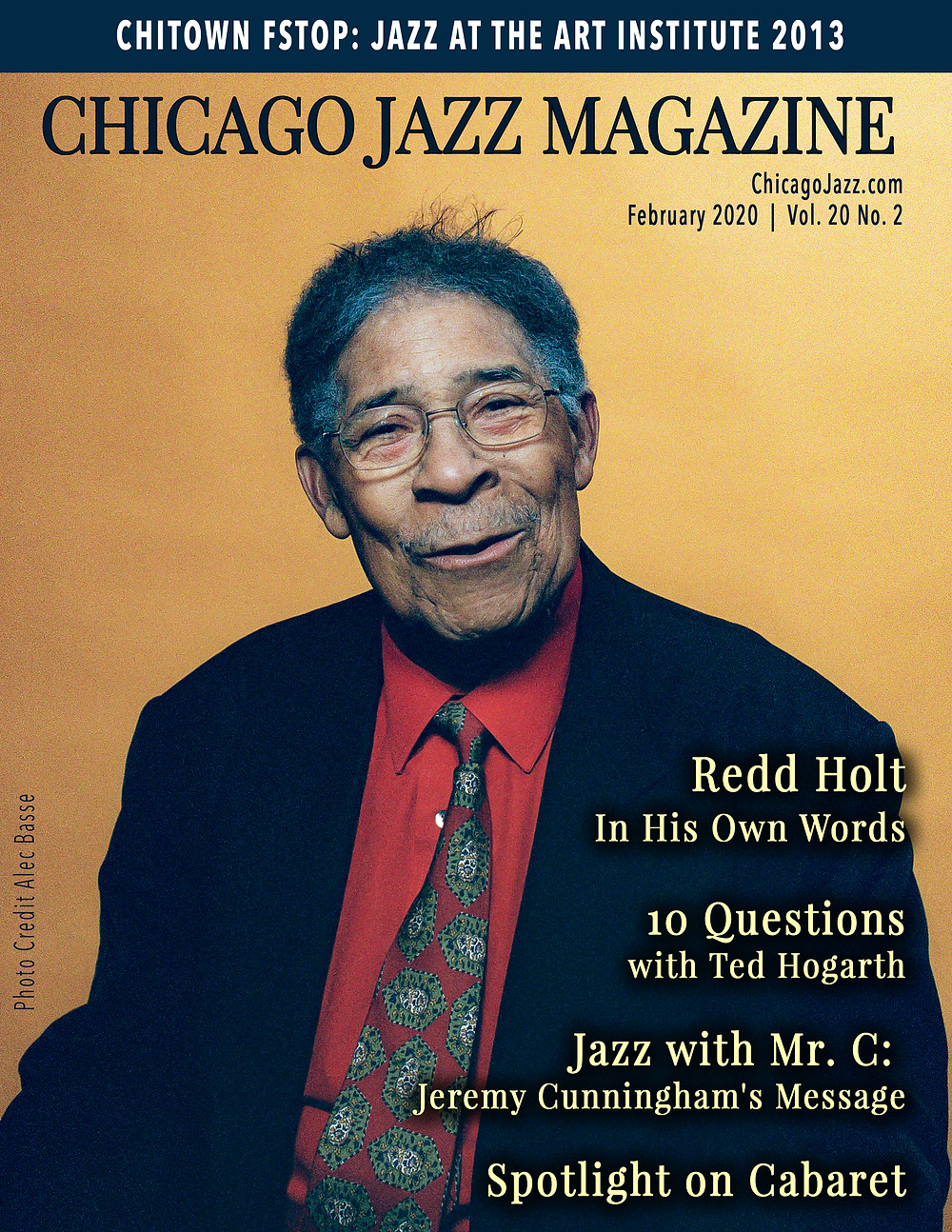 Chicago Jazz Magazine Cover with Redd Holt