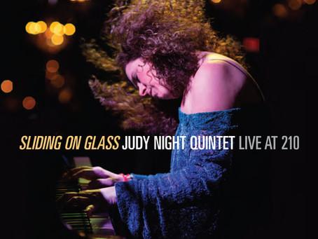 "CD Review: Judy Night ""Sliding on Glass"""