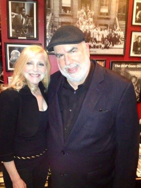 Laury and trumpet player Randy Brecker.