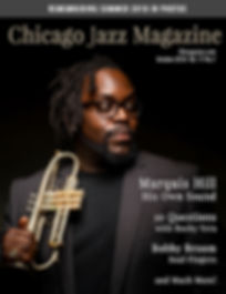 Chicago Jazz Magazine Cover Marquis Hill