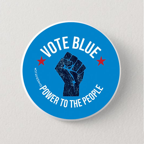 Vote Blue Power to the People