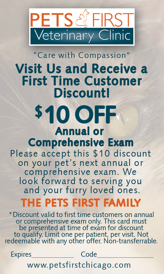 Pets First Discount Card