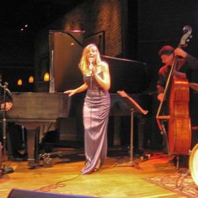Michele Legrand Laury and John Patitucci perfomring at the Dakota jazz club in Minneapolis, MN.