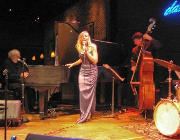 Michele Legrand Laury and John Patitucci perfomring at the Dakota jazz club in Minneapolis, MN.