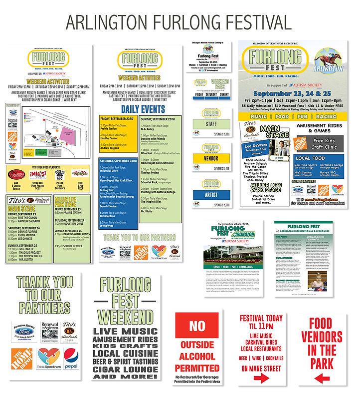 Arlington Furlong Festvial Media