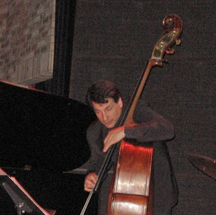 Iconic bassist John Patitucci perfomring with Michele Legrand, Laury and renowned drummer Willie Jone III at he Dakota jazz club in Minneapolis, MN.