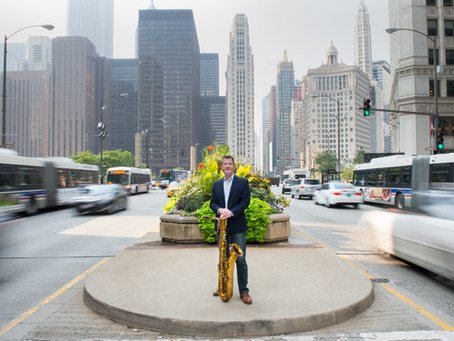 10 Questions with Baritone Saxophonist Ted Hogarth