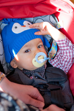 Baby with Winter Hat