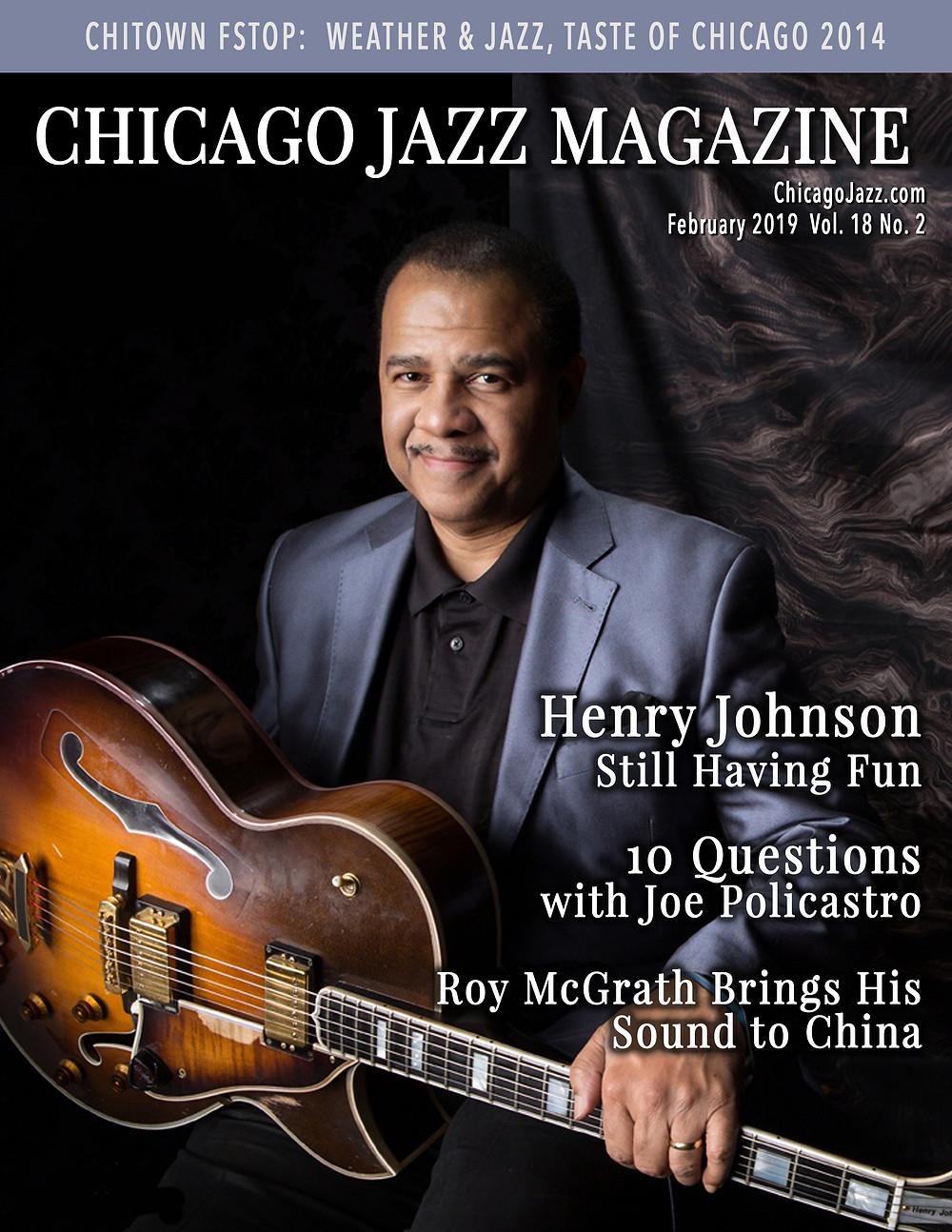 Henry Johnson - Chicago Jazz Magazine February 2019