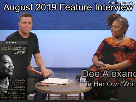 August 2019 - Feature Interview: Dee Alexander