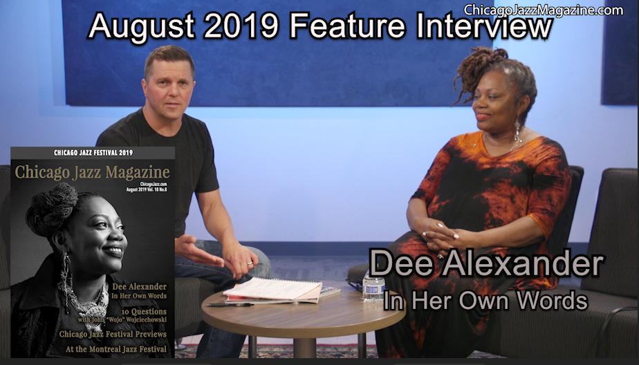 Chicago Jazz Magazine Interviews Dee Alexander