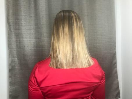 Hair Transition - Balayage and a Cut