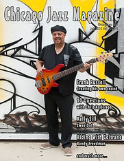 Chicago Jazz Magazine Cover Frank Russel