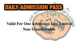 Highwood Pumpkin Festival Admission Pass