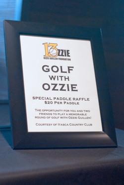 Golf with Ozzie
