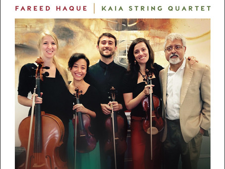 CD Review: Fareed Haque, New Latin American Music For Guitar And String Quartet