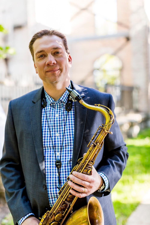 John Wojciechowski saxophonist