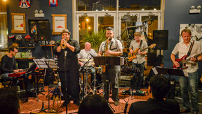 Kings of the Lobby - Pop Up Jazz Event at Ancien Cycles Cafe August 4th - Photos