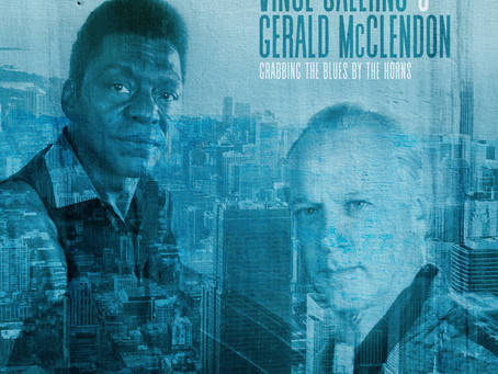 """Mr. C's CD Review: Vince Salerno and Gerald McClendon """"Grabbing the Blues by the Horns"""""""