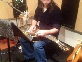 """Recording """"Time Is A Healer"""" with John Rice"""