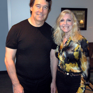 Film composer and conductor David Neuman and Laury.