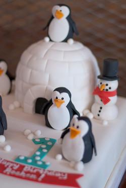 Penguins on Cake