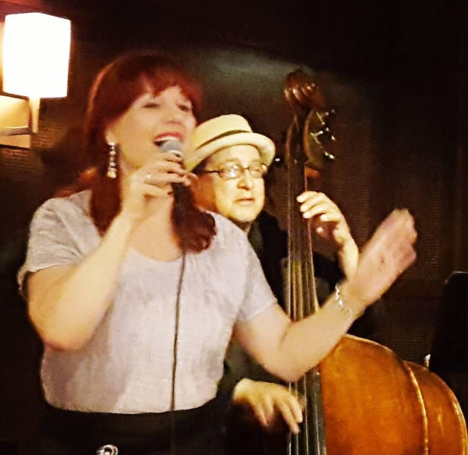 Linda Solotaire and Harrison Bankhead