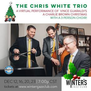 Charlie Brown Rides Again! - Chris White Trio presents a virtual version from Winter's Jazz Club