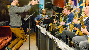 The Blueshift Big Band at JRAC