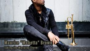 "Maurice ""Mobetta"" Brown featured in the June issue of Chicago Jazz Magazine"