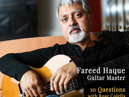 December 2018 - Feature Interview Fareed Haque: Guitar Master