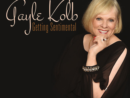 "CD REVIEW -  GAYLE KOLB ""Getting Sentimental"""