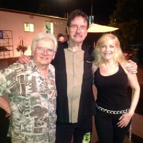 Toto concert - Bassist David Hungate, Lee Montgomery and Laury.