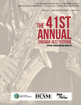 Chicago Jazz Festival Media Kit 2019 COV