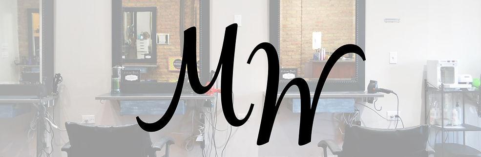 Modern Wave Salon Logo