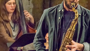 Josh Torrey and Jon Rarick perform their large ensembles at Chris Andersons JRAC.