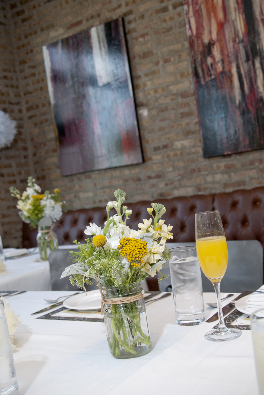 Floral Arrangements and Mimosas