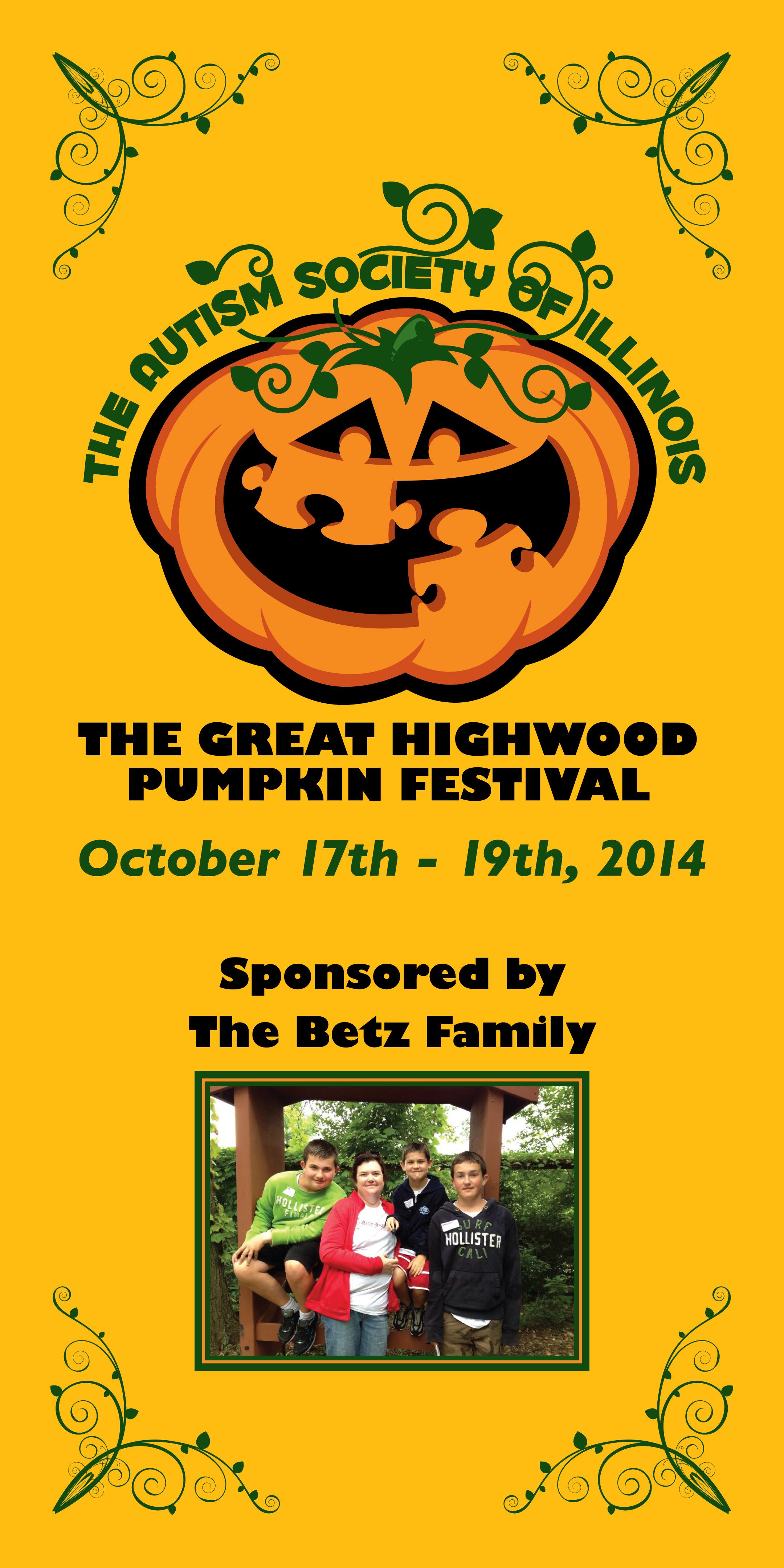 Highwood Pumpkin Festival Event Signage