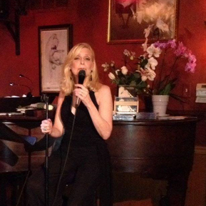 Performing at Katerina's in Chicago.