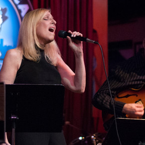Laury and John Moulder at the Jazz Showcase.