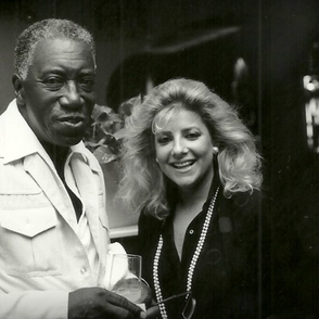The great Joe Williams and Laury - photo by Bill Klewitz