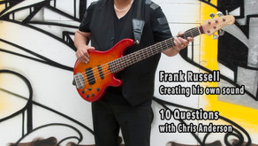 Chicago Jazz Magazine July 2018 - Interview with Frank Russell
