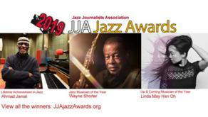 JAZZ JOURNALISTS ASSOCIATION 2019 AWARDS WINNERS