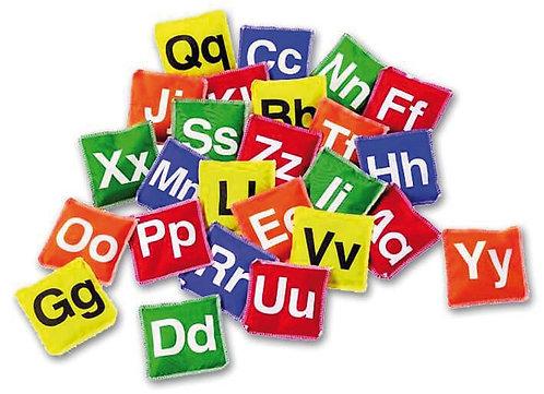 Angļu alfabēta spilventiņi