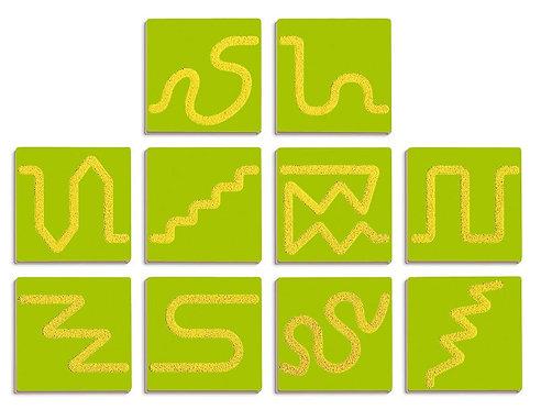 Sensorikas grafiskās flīzes - Puzle