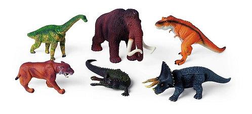 Aizvēsturisko dzīvnieku komplekts