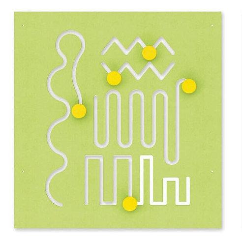 Manipulatīvā tāfeles virsma - Labirints