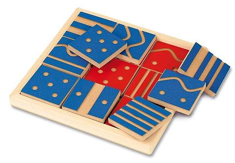 Sensorikas taustes puzle