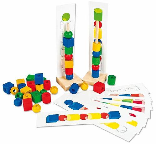 Koka kluči - Būvē torni