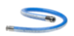 Smoothflow PTFE hose with rubber cover